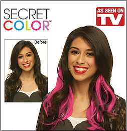 SECRET COLOR PINK As Seen On TV